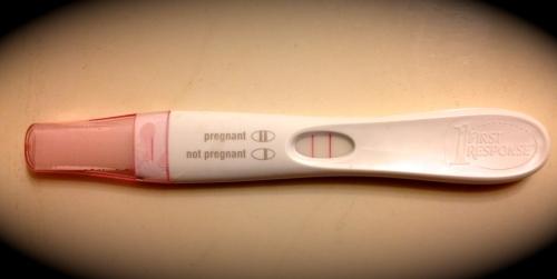 Pregnancy Test 10-15-13